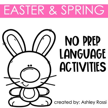 Easter and Spring Speech Therapy