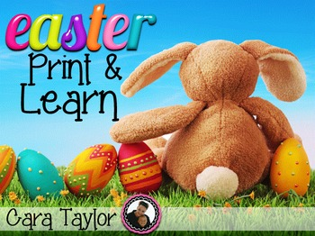 Easter and Spring No Prep Printables
