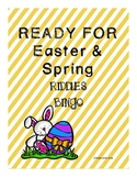 Easter and Spring Riddles Bingo