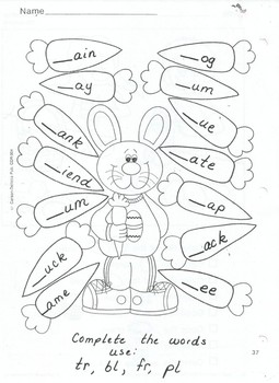 Easter and Spring Worksheets