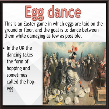 Easter – and tradition ESL holiday lesson culture and traditions