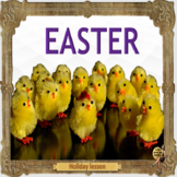 Easter  ESL, ELL, EFL adult conversation holiday lessons - culture and tradition