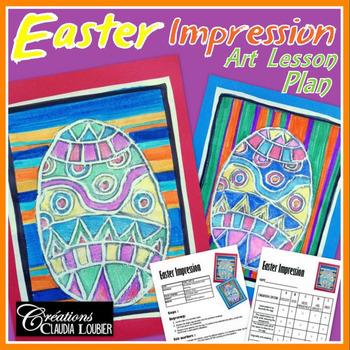 Easter Art Activity for Kids - Easter Art Lesson - Styrofo