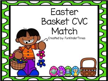 Easter basket CVC match