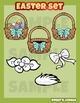 Easter clip art mini set