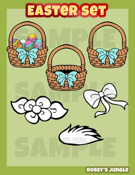Easter clip art mini set