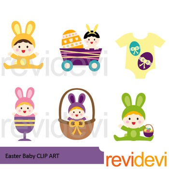 Easter clipart - Baby