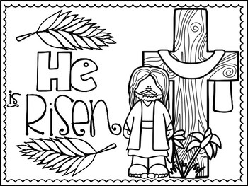 Religious Easter Coloring Pages - Best Coloring Pages For Kids | 263x350