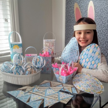 Easter craft for kids SUPER SALE pack and FREE coloring pages and mobile