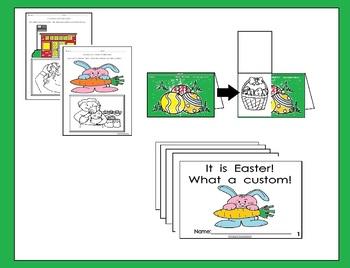 Easter custom activities (Spanish and English)
