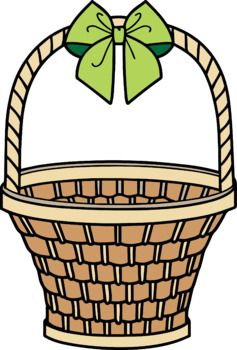 Easter day / Easter baskets / Baskets / Bows