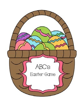 Easter egg ABC's game