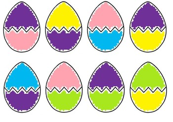 Easter egg colour match