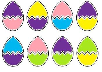 Easter egg colour match