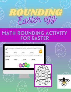 Easter egg rounding activity
