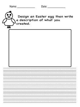 Easter egg writing