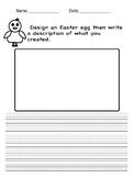 Easter egg writing