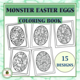Easter Egg Coloring Pages - Clip Art