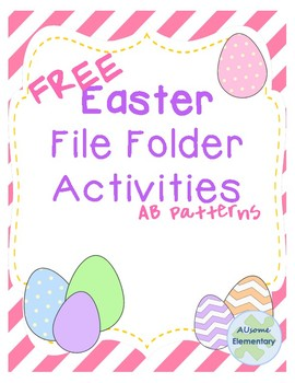 Easter file folder-patterns