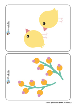 Easter flash cards