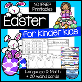 Easter Activities: Easter Math and Language Activities for Kindergarten