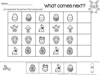 Easter for Kinder Kids FREE