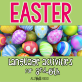 Easter for Speech & Language Therapy - Upper Elementary