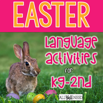 Easter for Speech & Language Therapy - Younger Elementary
