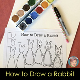 FREE Easter Activity - How to Draw a Bunny