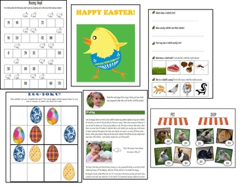 Easter fun activities - English & Maths