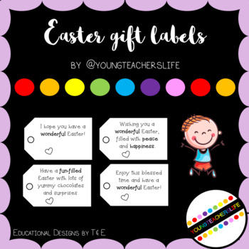 Easter Gift Label FREEBIE - Style 1