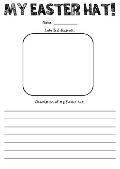 Easter Hat Teaching Resources Teachers Pay Teachers