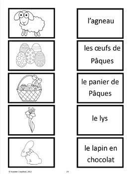 Easter Activities and Games in French - Pâques en Français