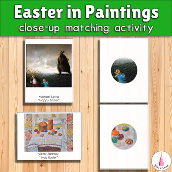Easter in Paintings Close-Up Matching Cards