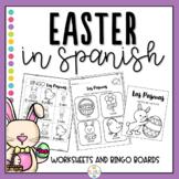 Easter in Spanish Worksheets and Bingo - Las Pascuas