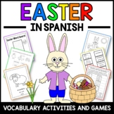 Easter Activities and Games in Spanish - La Pascua