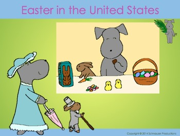 Easter in the United States with Pepper