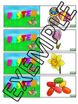 Easter - memory/association game