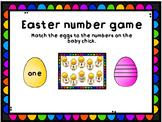 Easter number game