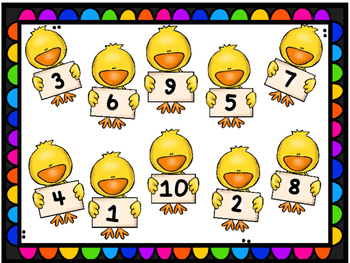 Easter number game