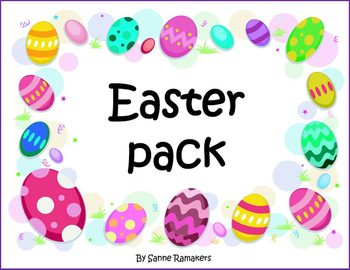 Easter pack - worksheets, activities and games