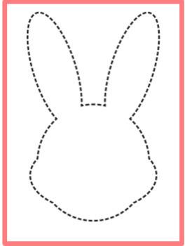 Easter pin punching printables (Montessori printables)