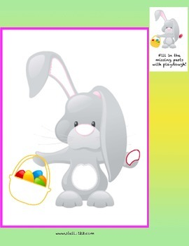 Free easter play dough mats play pack