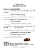Easter recipe & craft to conjugate French imperative