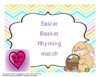 Easter rhyming words