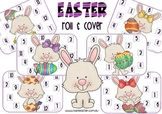 Easter roll & cover math game
