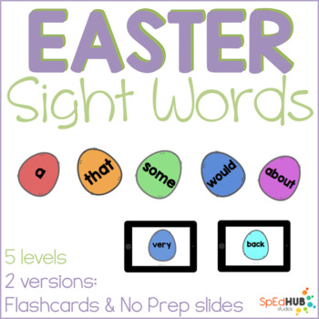 Easter's Common Sight Words