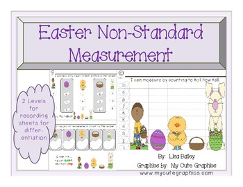 Easter themed Non-Standard Measurement