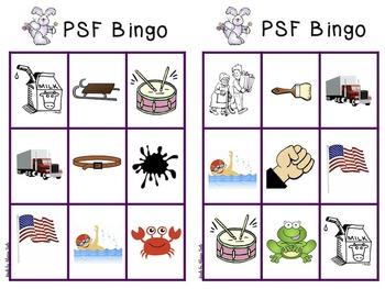 Easter-themed PSF Bingo