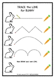 Easter themed Trace & Count Pack for Toddlers & Preschoolers
